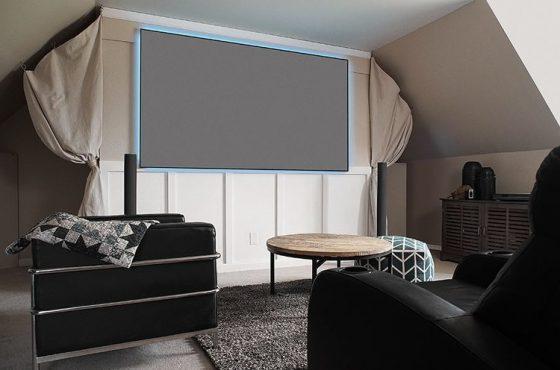 Cedia expo: elite screens upgrades its polarstar projection screen