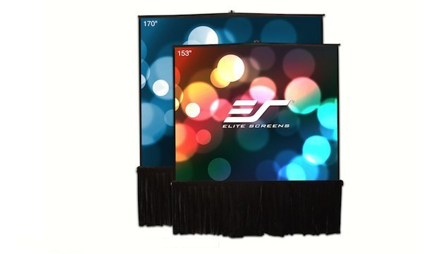 Church production magazine – elite tripod stage series projection screen