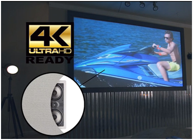 Acoustically Transparent Ambient Light Rejecting Screen…Just because it's not on the menu does not mean it won't be.