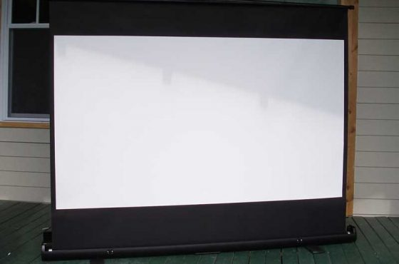 ezCinema Series, F80NWH Pull Up Projection Screen