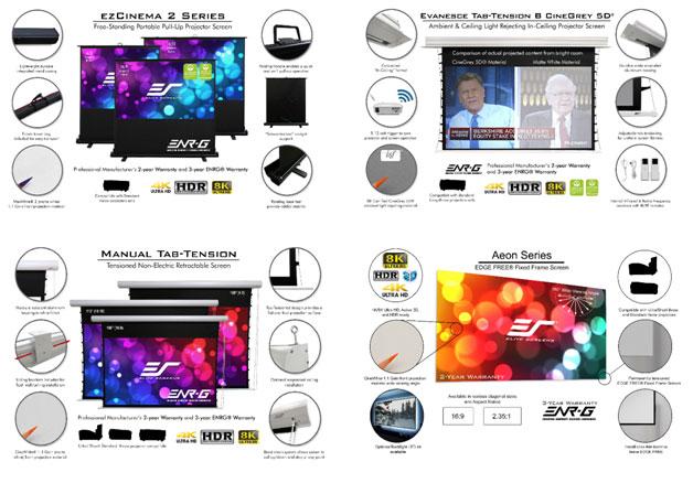 4 screen materials