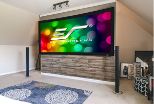 Lunette 2 Curved-Frame Projector Screen