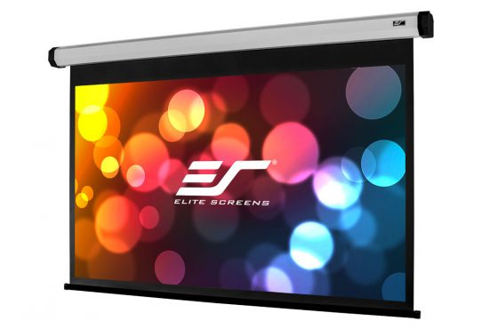 Elite Screens Home Series Electric Screen 100IWH