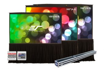 Church Product Review: Elite Screens QuickStand 5-Second Series