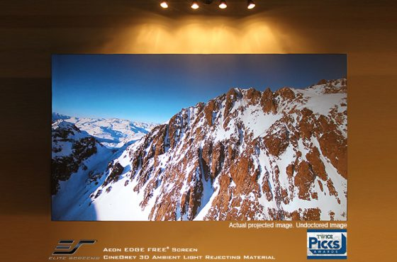 The Difference Between Matte White and the Cinegrey 3D®Ambient Light Rejecting Projector Screen