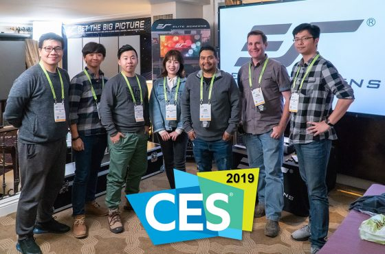 Thank You for Visiting Elite Screens at CES 2019