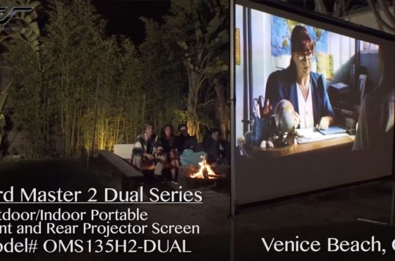 Dual Purpose (Two-way) Projection Materials are Better Than Standard Matte White & Rear Projection Materials. Here's Why…