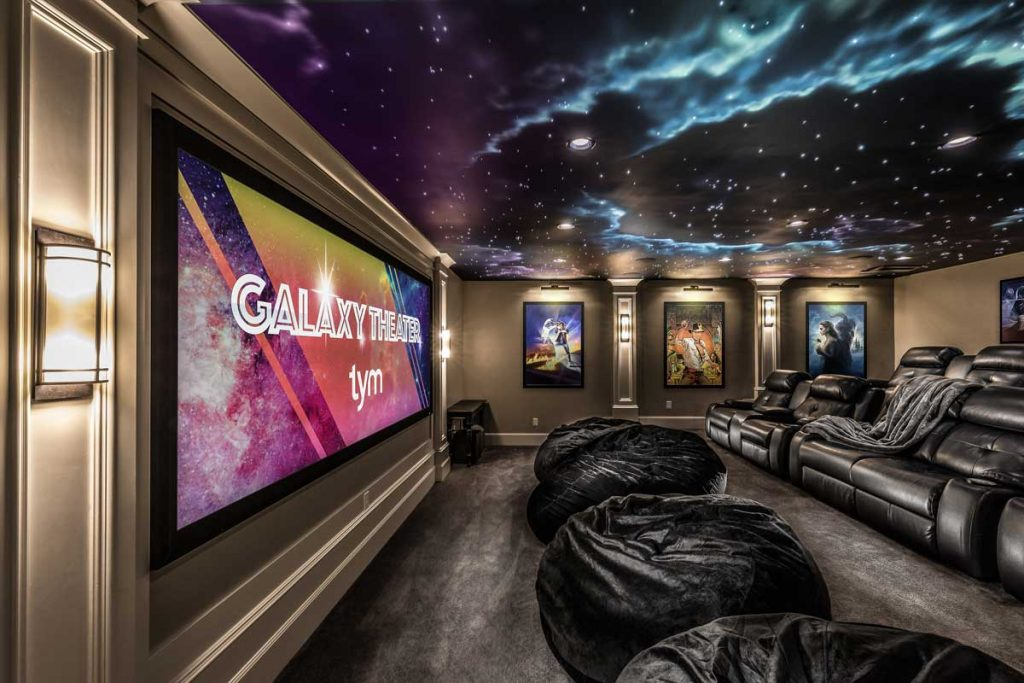 EPV projector screens Galaxy Theater