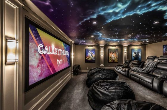 Galaxy Theater Installation Wins Gold in the EH Home of the Year 2018 Award ($25-75k installations)