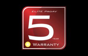 EliteProAV 5-Year Warranty