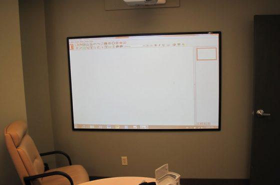 Whiteboard Screen Universal at INLAND AUDIO VISUAL LTD Distributed by ADI Canada