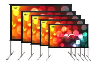 JoelsterG4K Reviews Elite Screens Yard Master 2 Series – Fast-folding Frame Outdoor Projection Screen