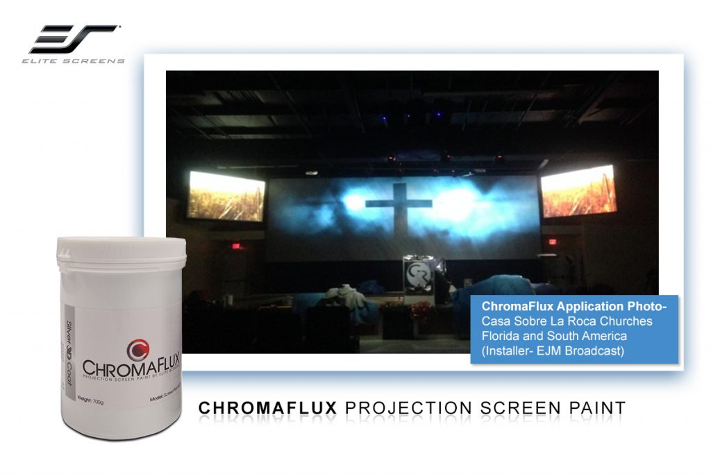 ChromaFlux Projector Screen Paint