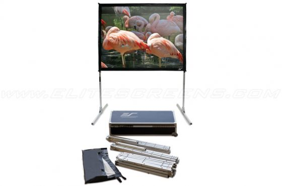Elite Screens Quickstand Portable Projector Screen Review