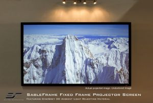 Sable Frame Cinegrey 3D® ambient light rejecting screen