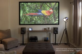 WSR Magazine Product Review: Elite Screens ezFrame Projection Screen With CineGrey 5D®