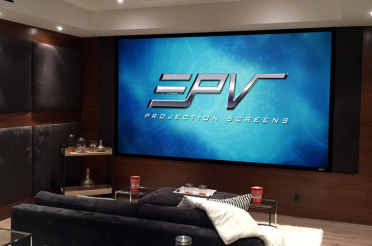 EPV Screens® Prime Vision ISF, Fixed Frame Projection Screen
