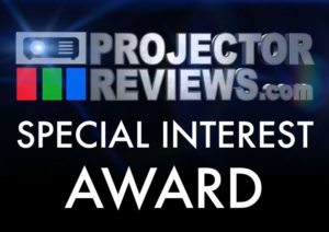 Elite ProAV® Saker Tab-Tension wins the 2019 Special Interest Award from ProjectorReviews.com