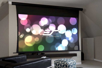 Saker Tab-Tension Series 120″ Diagonal- Elite ProAV Projector Screen Review