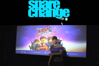 Spare Change's Shane Evaluates Elite Screens' Aeon (AR125WH2-WIDE) Cinemascope Matte White Fixed-Frame Projection