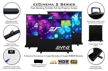 Newsletter: Just Doin' Life Reviews Elite Screens' Reflexion & ezCinema 2 Portable Projection Screens