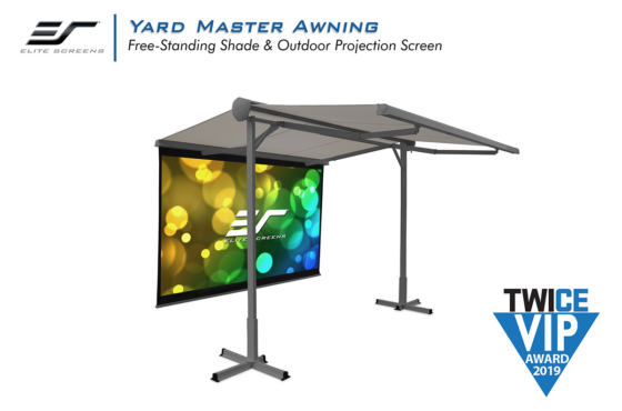 Elite Screens Yard Master Awning Screen Wins 2019 TWICE VIP Award