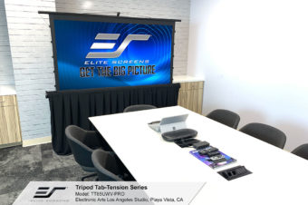 Tripod Tab-Tension Series Portable Free-Standing Tripod Projection Screen