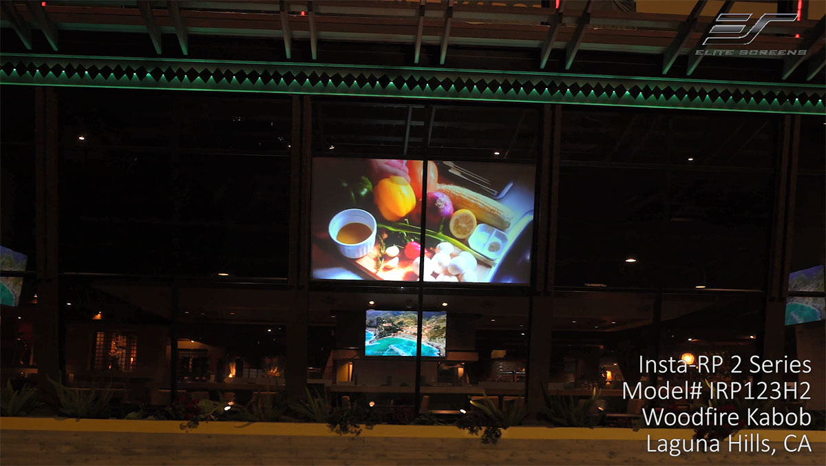 Insta-RP 2 Series | Rear Projection Self-Adhesive Film Installation