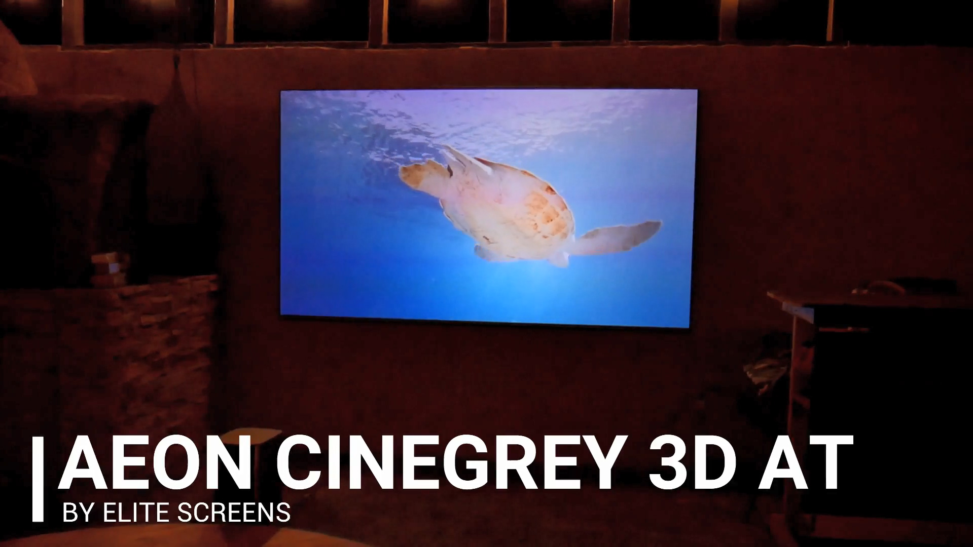 Joelster Reviews The Aeon CineGrey 3D® AT – Ambient Light Rejecting Acoustic Transparent Screen