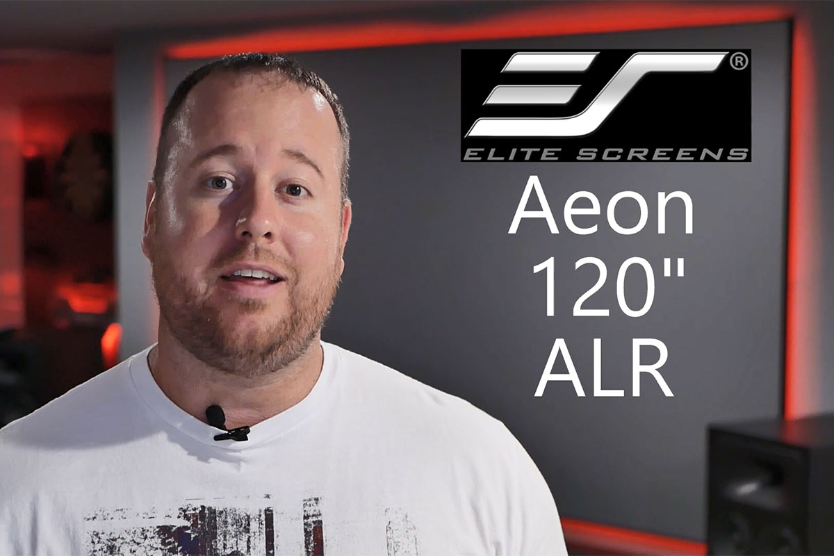 Aeon CineGrey 3D® is Reviewed by Life of Bliss | Ceiling Ambient Light Rejecting Screen