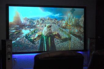 David Arce Gutiérrez from Fotograma 24 Gives Full Review On Elite Screens CineGrey 3D® Material