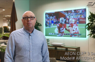 Aeon CLR® 3 at Design Center Furniture Testimonial | ALR/CLR® Fixed Frame Screen