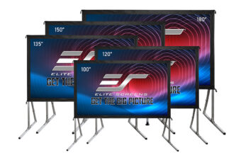 Yard Master 2 WraithVeil® Dual | 180″ Large Outdoor Screen | Front and Rear Projection