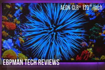 EBPMan Reviews the Elite Screens Aeon CLR® Series – 123 inch ALR/CLR Projector Screen